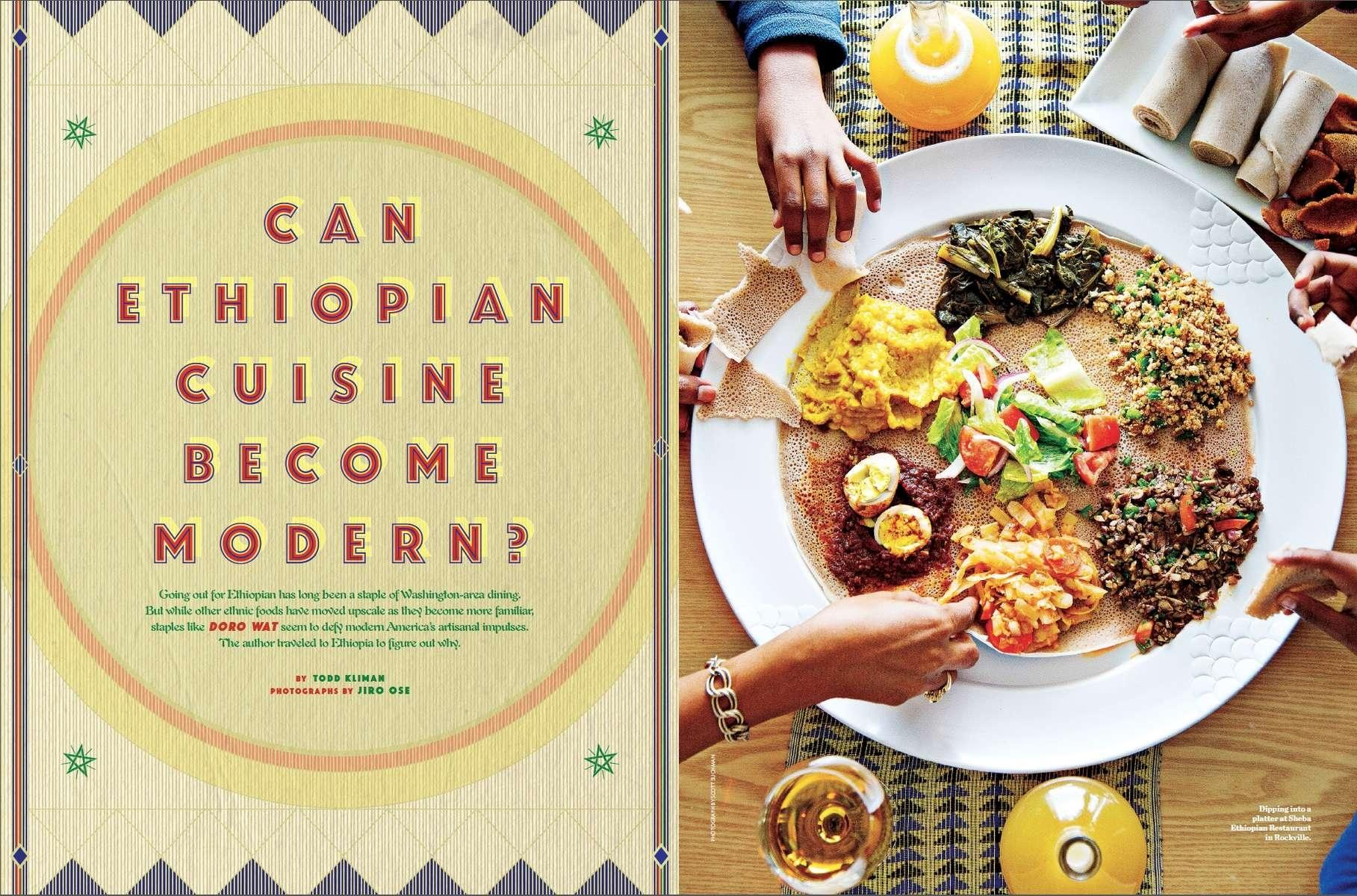 Washingtonian Magazine, Searching for the Authentic Taste