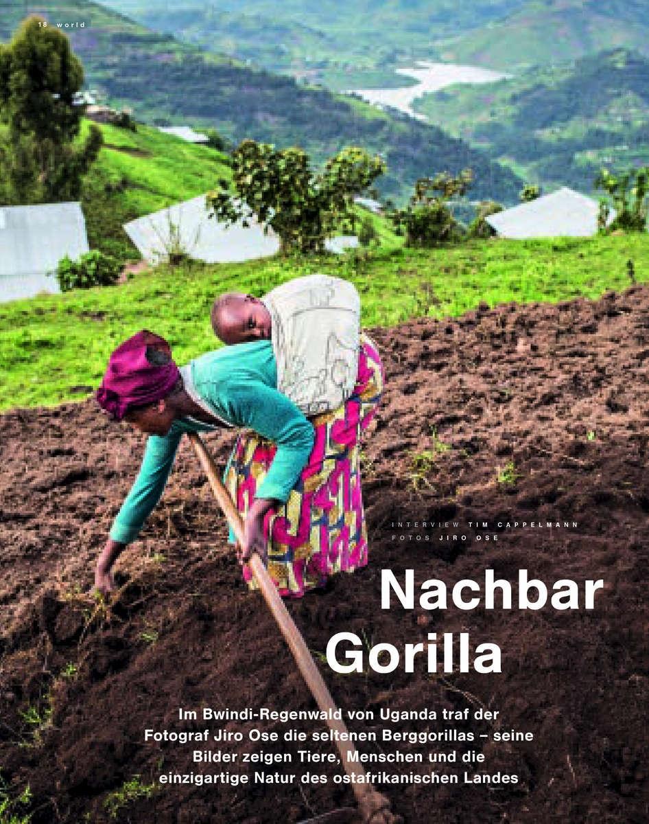 Lufthansa Magazine, Uganda Highlands