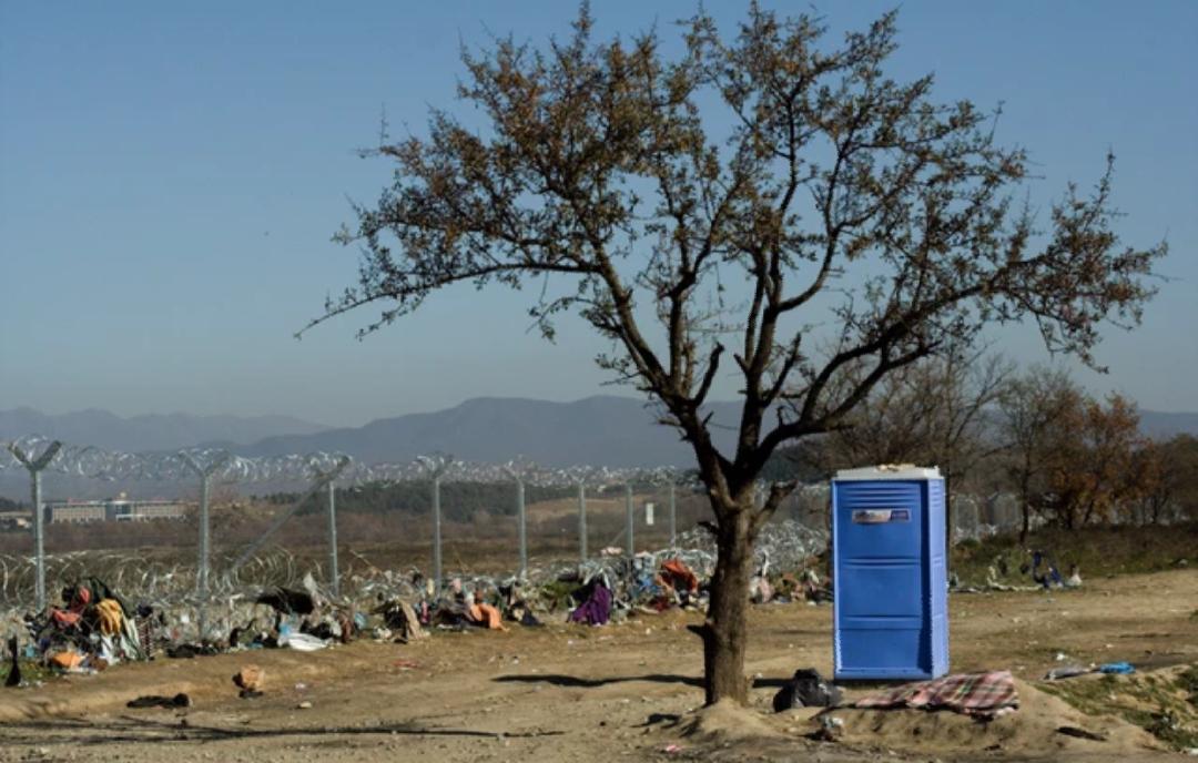 Greek-Macedonian border (Idomeni)