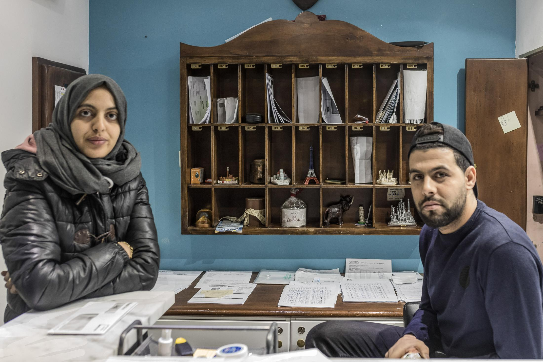 Two Moroccan entrepreneurs manage a refugee-hotel in La Spezia (Italy)