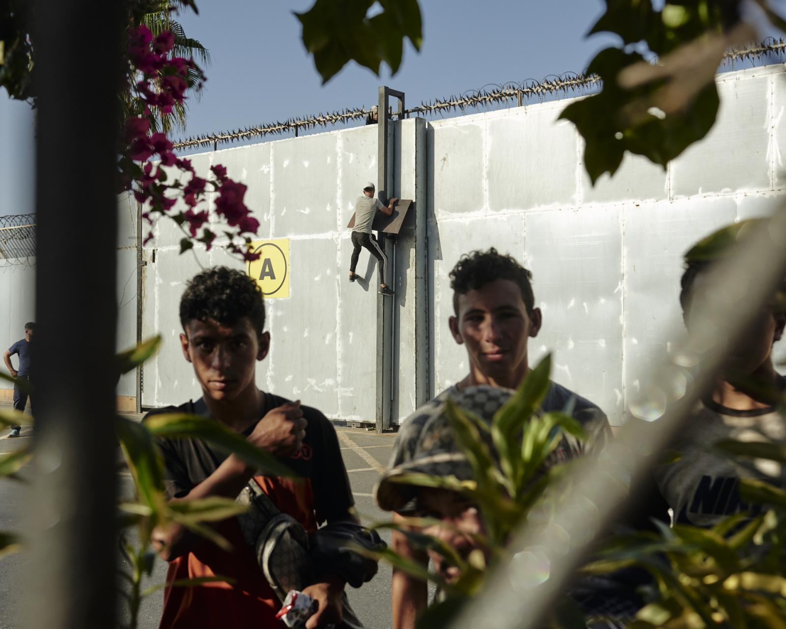 Once migrants reach the Spanish town of Ceuta, they need to smuggle inside a cargo ship, trucks or any other option in order to cross the Gibraltar strait.
