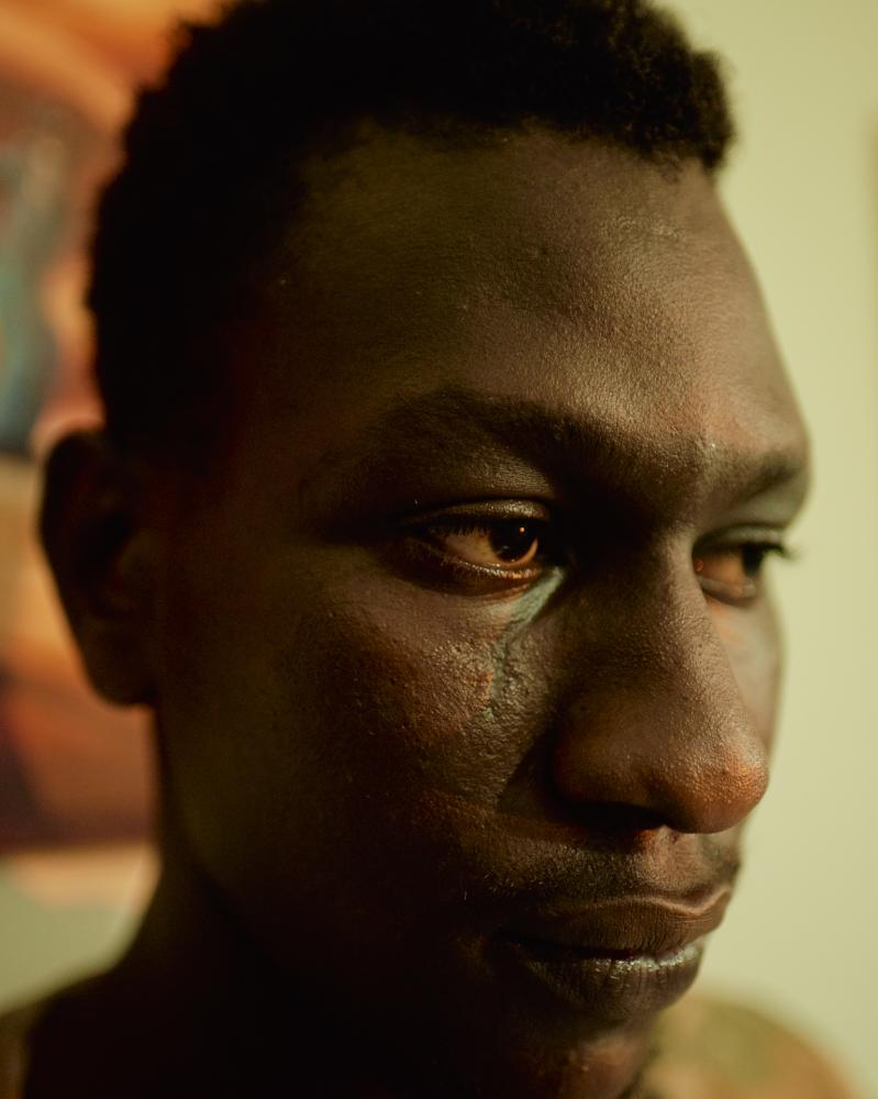 Masour, 17, has been two years away from his home country, Guinea Conakry.