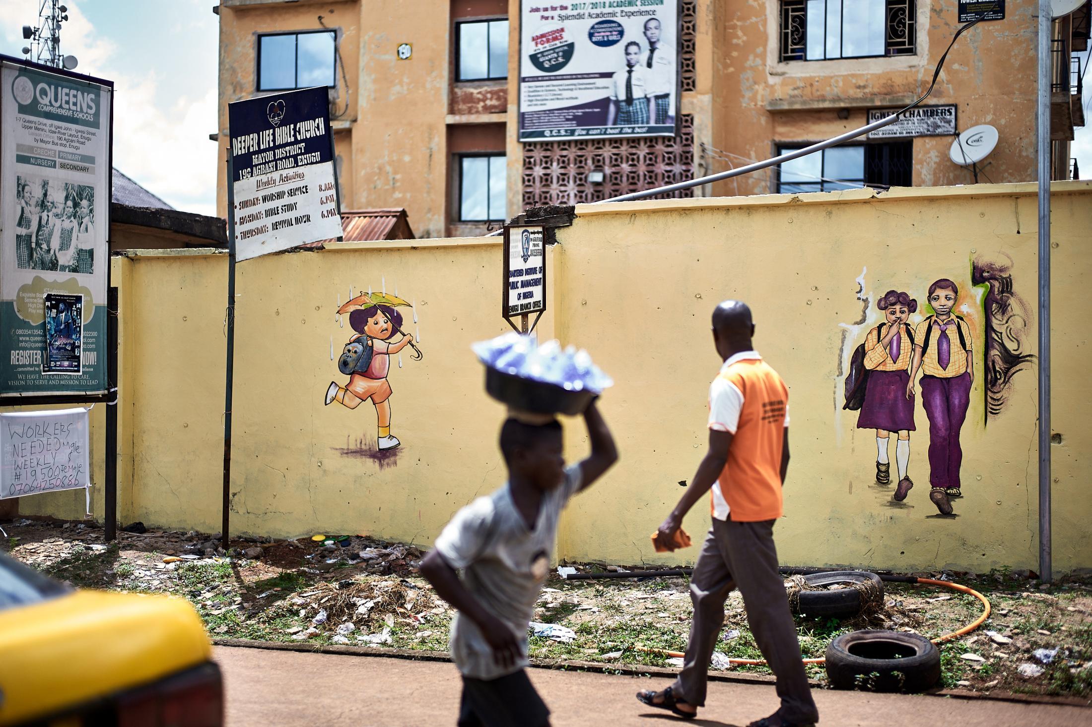 filth you see, stilths I see, enugu, nigeria.