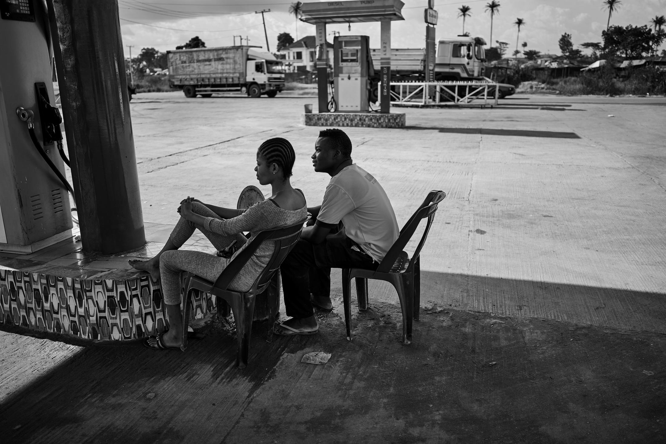 are they in love or are they, like nigeria, in love-hate?, lagos-benin expressway, nigeria.