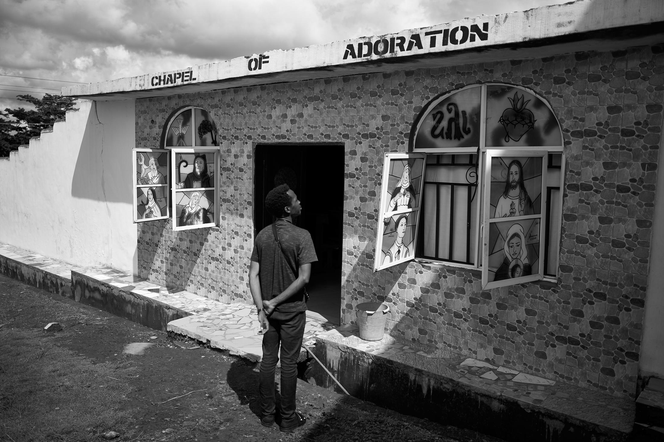 chapel of adoration,ikom (nigeria-cameroun border town), nigeria.