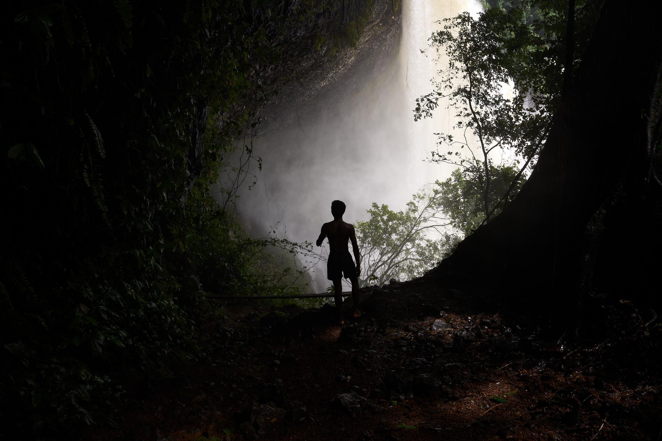 waters fall, agbokim waterfalls,ikom (nigeria-cameroun border town), nigeria.