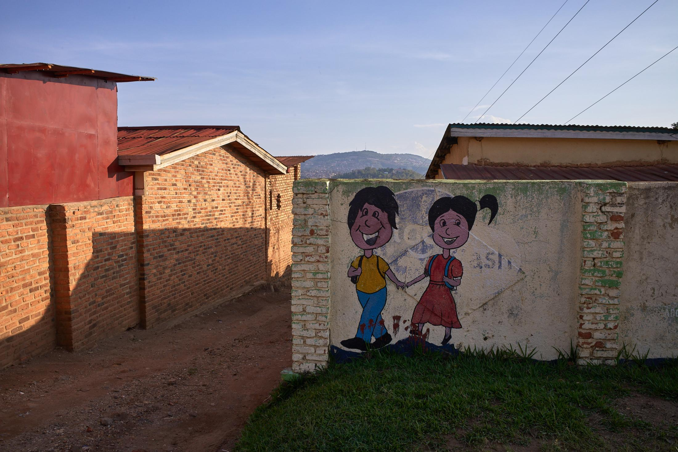 hand in hand, kigali, rwanda.