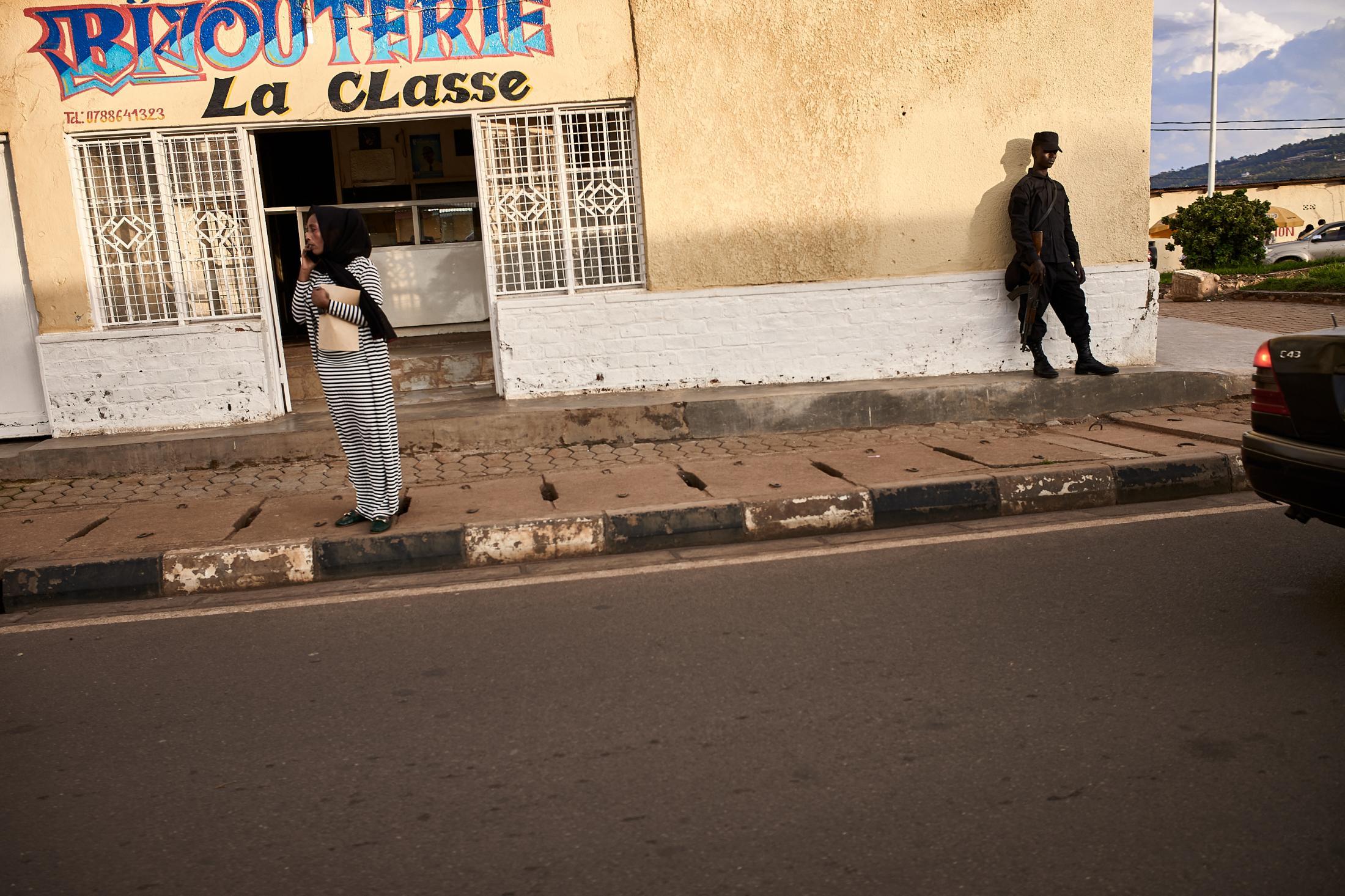 behind the curtain, kigali, rwanda.