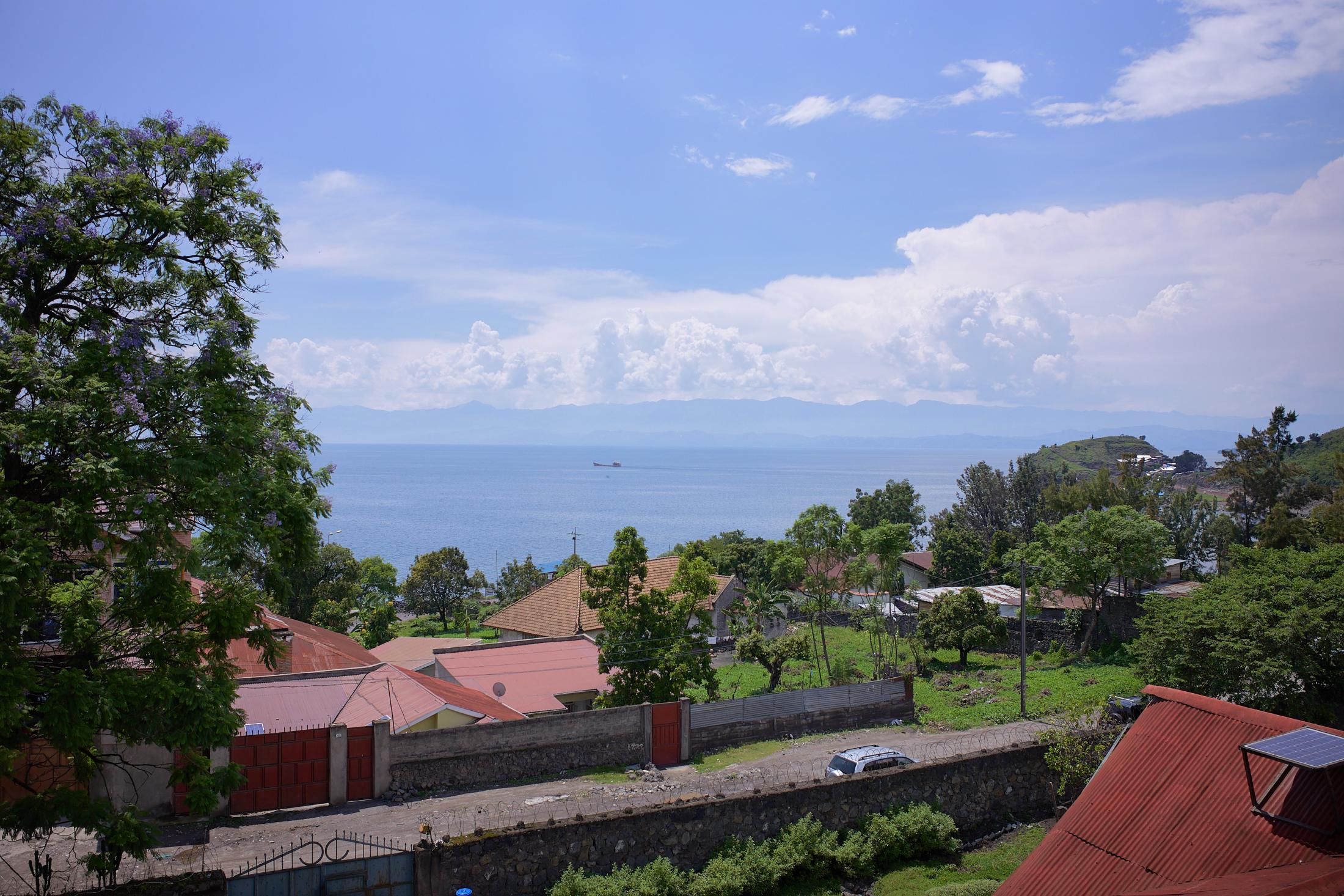 lake kivu – a view 1, goma, democratic republic of congo.