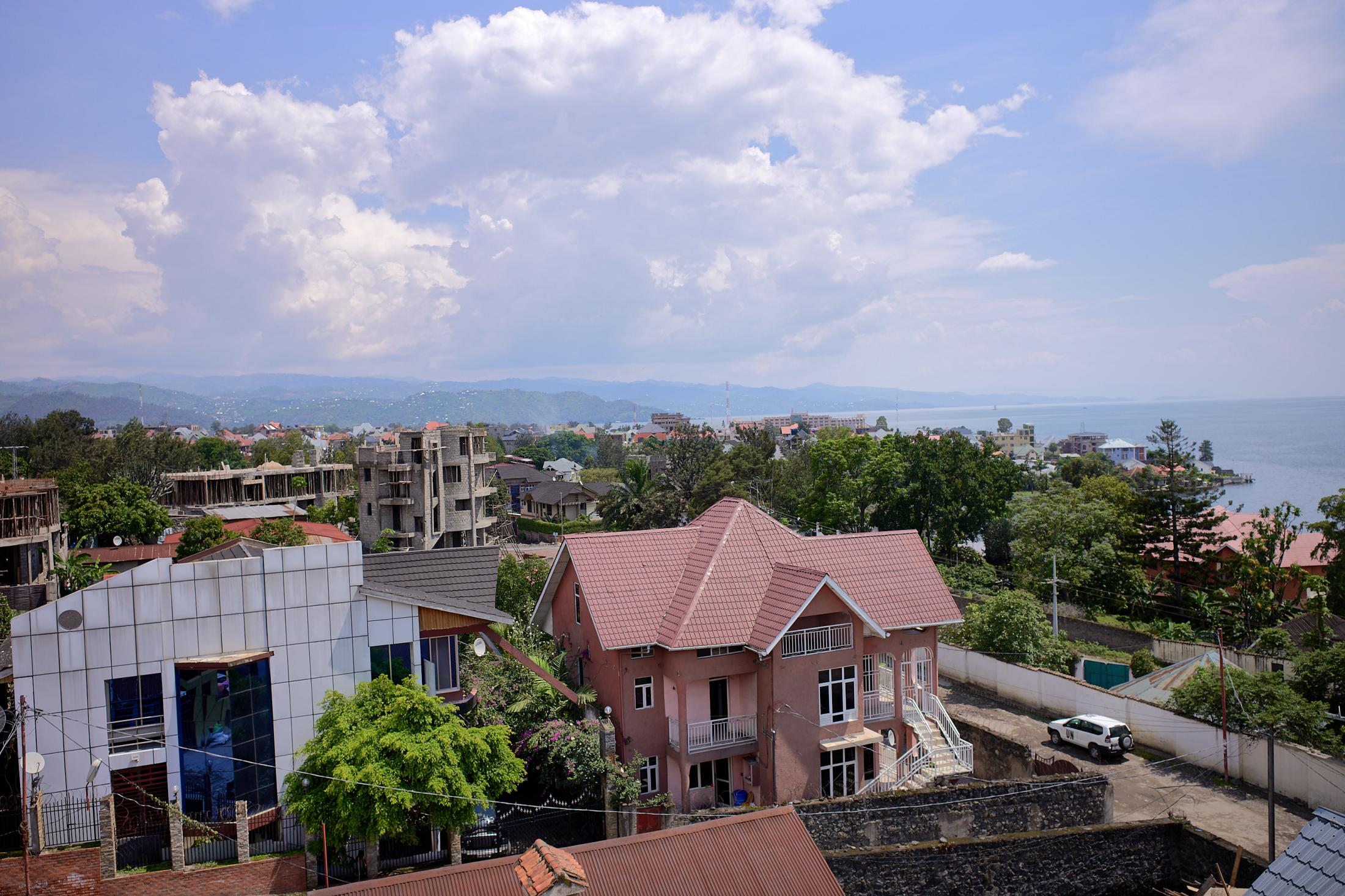lake kivu a view 2,goma, democratic republic of congo.