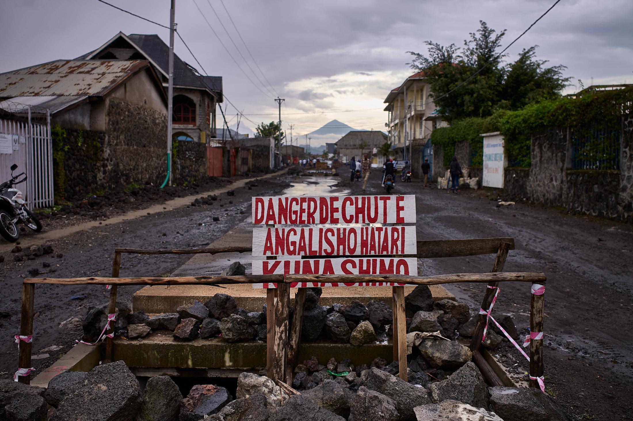 a lava's path, a new cartography,goma, democratic republic of congo.