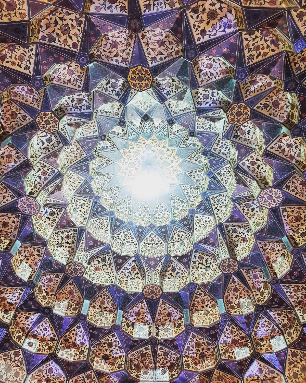 #ceiling #pars #museum #shiraz