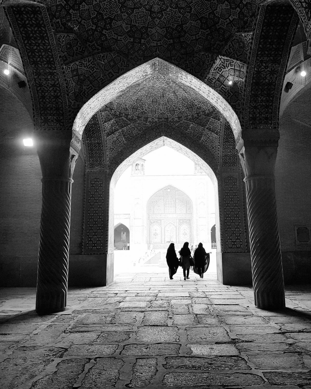 #arches #vakil #mosque #shiraz