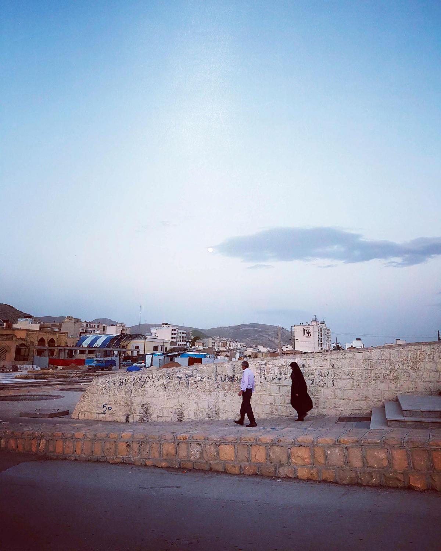 #moon #rising #shiraz