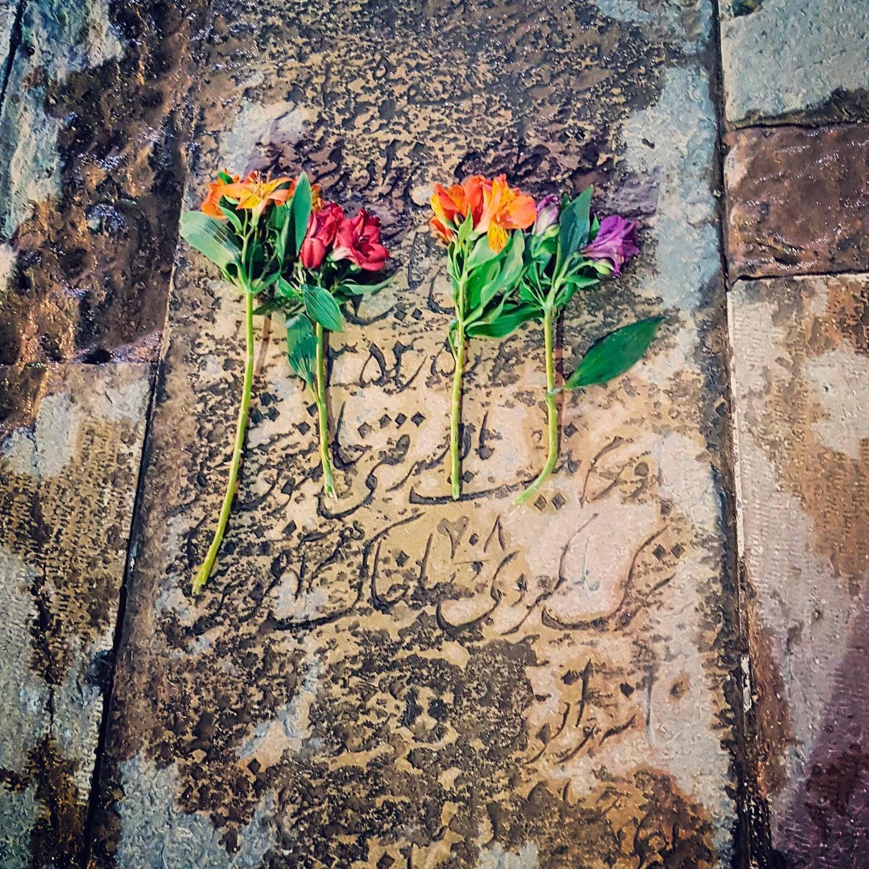 #evening #prayer #hajabbas #mosque #shiraz