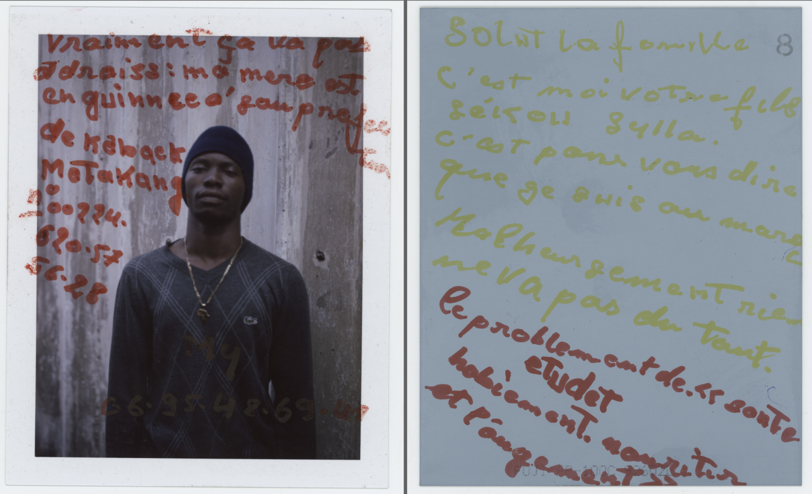 Honestly, everything is bad over here. Address: My mom is in Guinea at the Kabqck Motakang prefecture Number 00224 620575628 Hey Fam, it's me. Your son Seikou Sylla. I just wanted to tell you that I'm now in Morocco but unfortunately, nothing works here. The problem is that there is no way to study, get clothes, work, housing, food or anything.