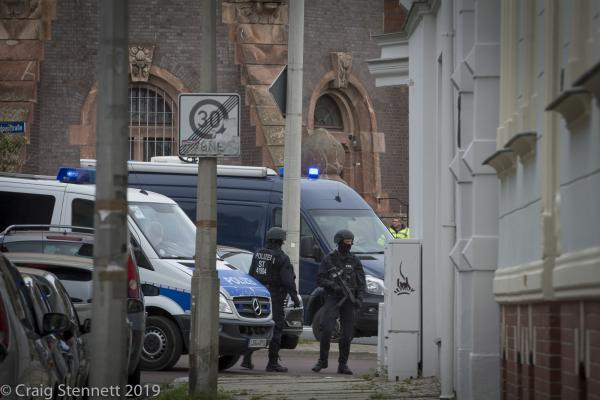 Synagogue Shooting, Halle (Saale), Germany