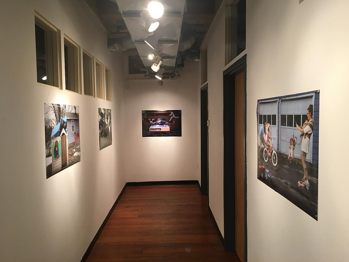 Installation view at the Dianich Gallery in Brattleboro, VT.