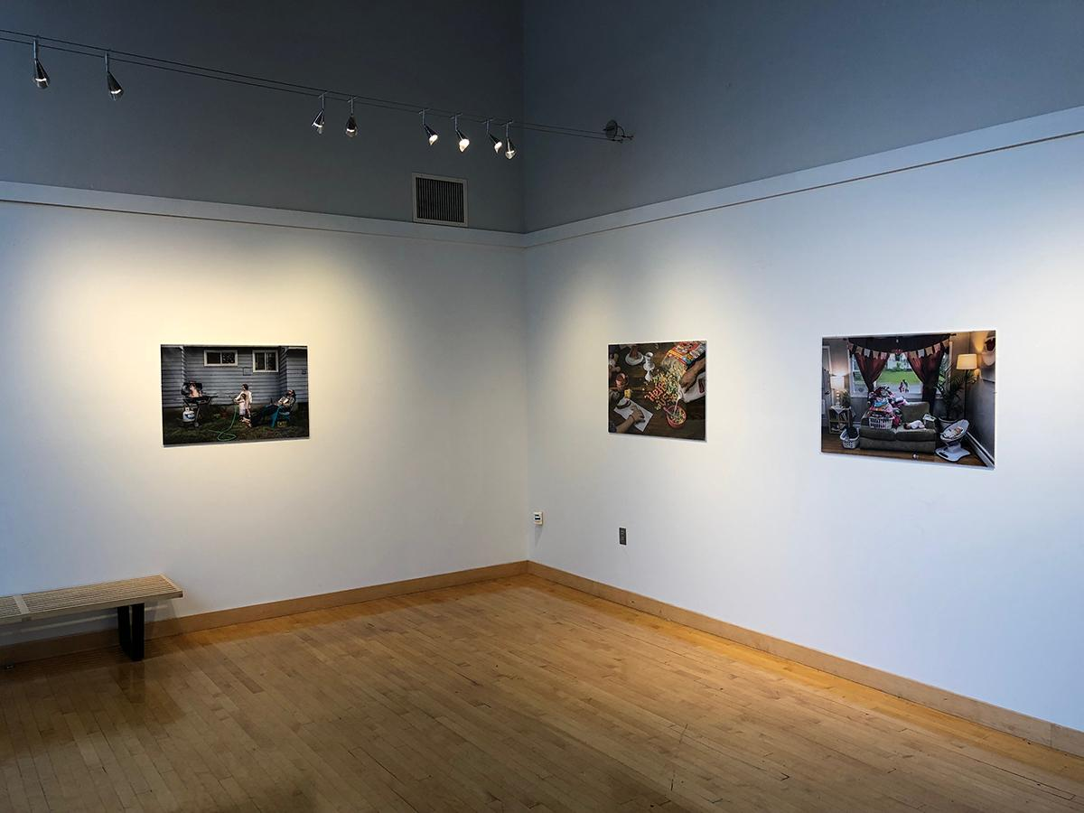 Installation view at the Grubbs Gallery in Easthampton, MA.