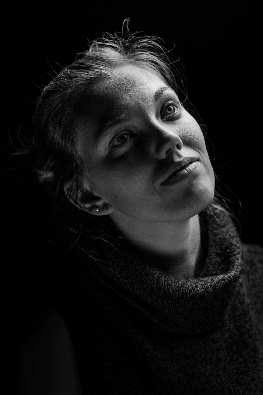 Dominique Hildebrand poses for a portrait.