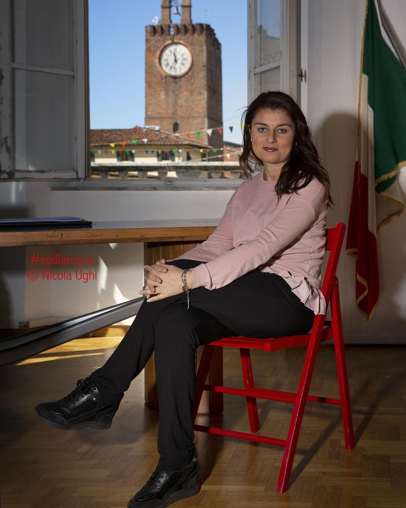 l'ex sindaco di Cascina, Susanna Ceccardi.
