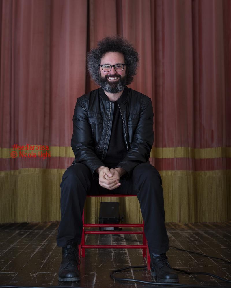 il cantautore Simone Cristicchi