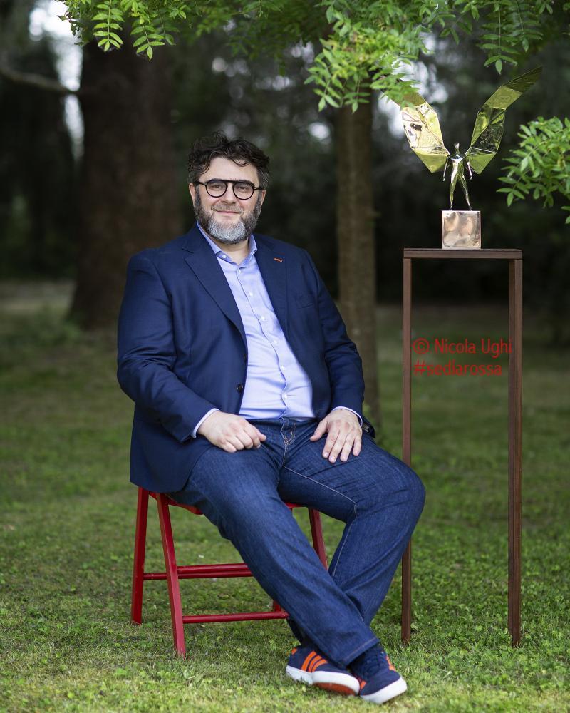 Lo scultore Daniele Basso