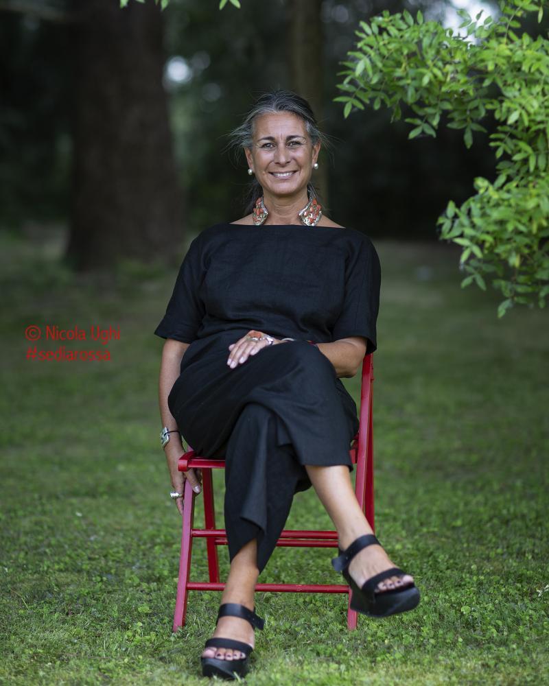 la stilista e designer Chiara Voliani