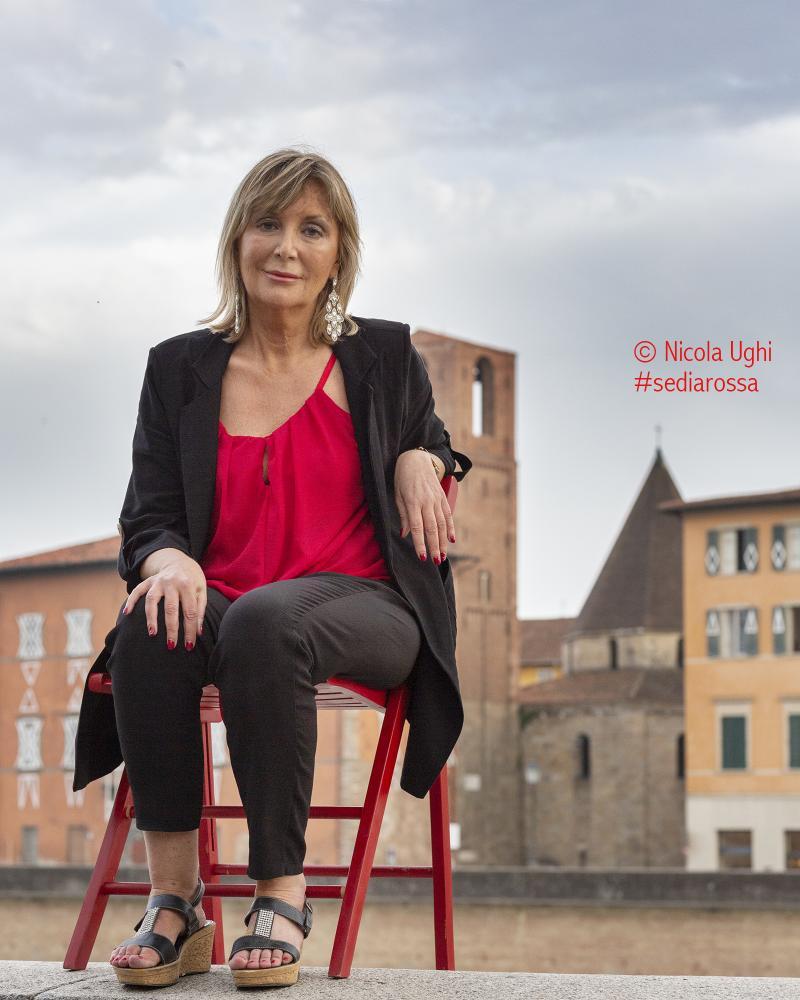 la scrittrice Daniela Ramacciotti