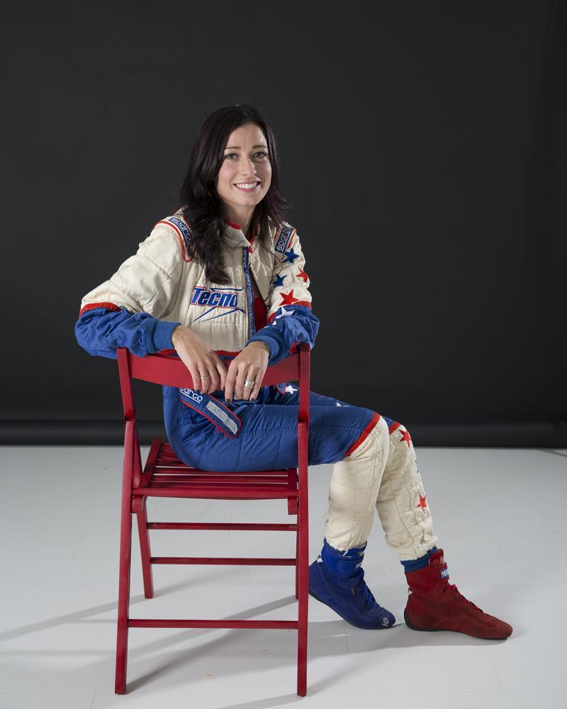 la navigatrice di rally Alessandra Benedetti