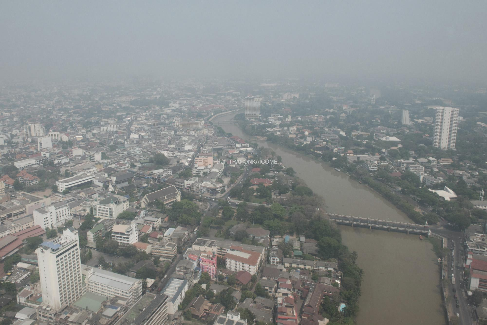 The Smoke crisis in the northern region affects the economy of cities such as Chiang Mai, which rely heavily on tourism. There is a tendency for this issue to intensify every year. The Chiang Mai sky is covered by fine particles of PM2.5, and the quantity of these dispersed fine particles has tremendously surpassed its critical safety limit.