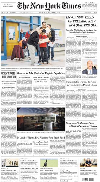 A1 The New York Times