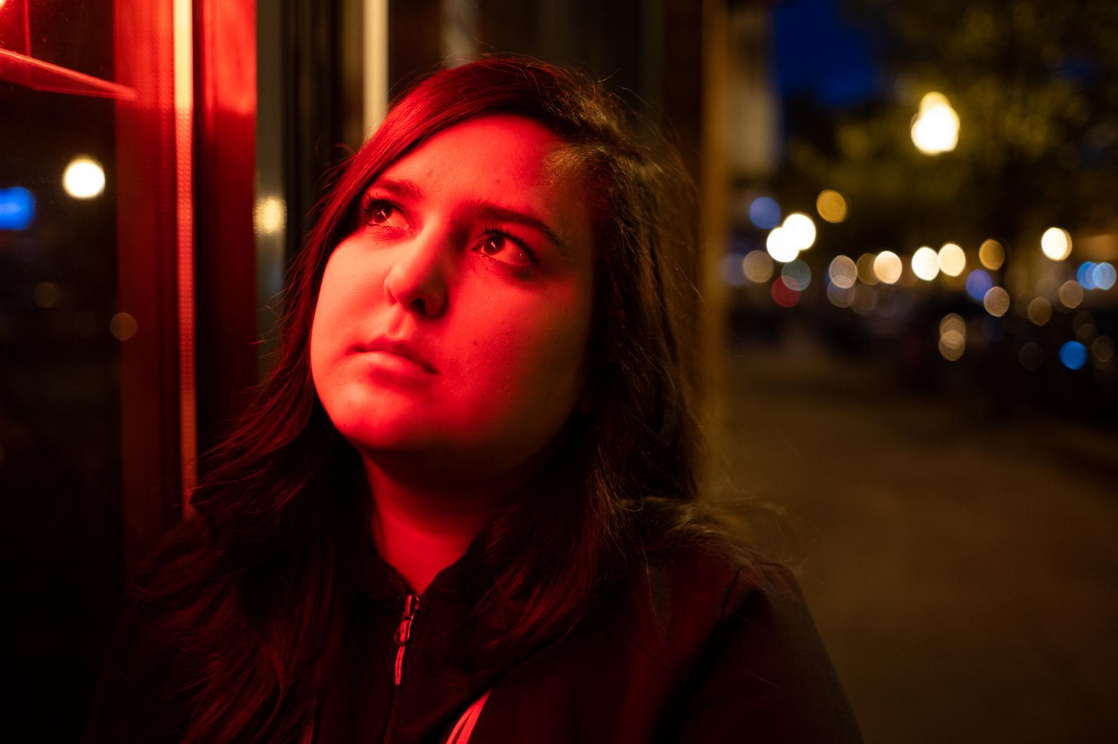 Portrait taken in Syracuse, New York.