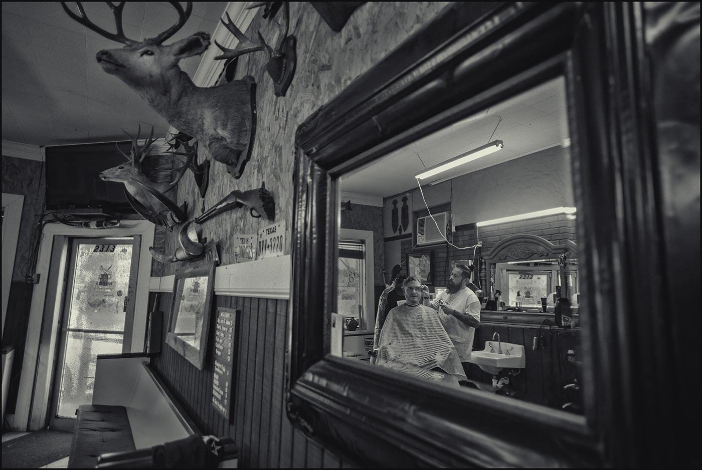Galvan Barbershop, San Antonio, Texas. October, 2019.