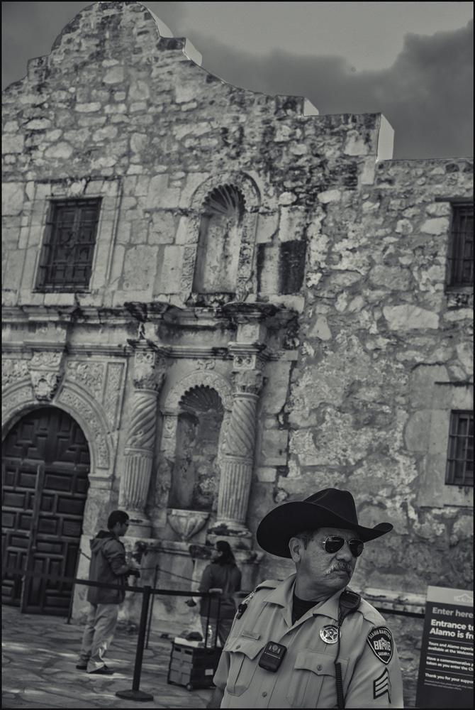Alamo, San Antonio, Texas. November, 2019.