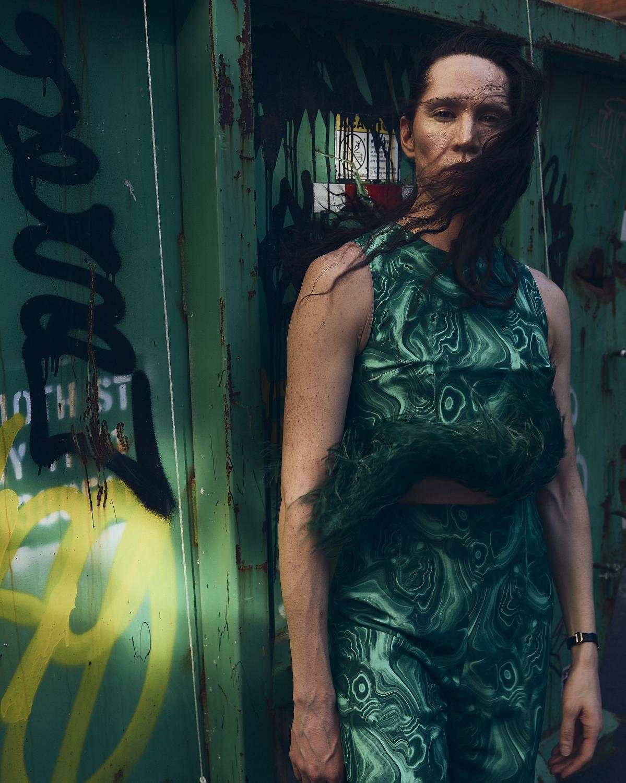 Di Mondo,Chilean fashionista. NY, 2019.