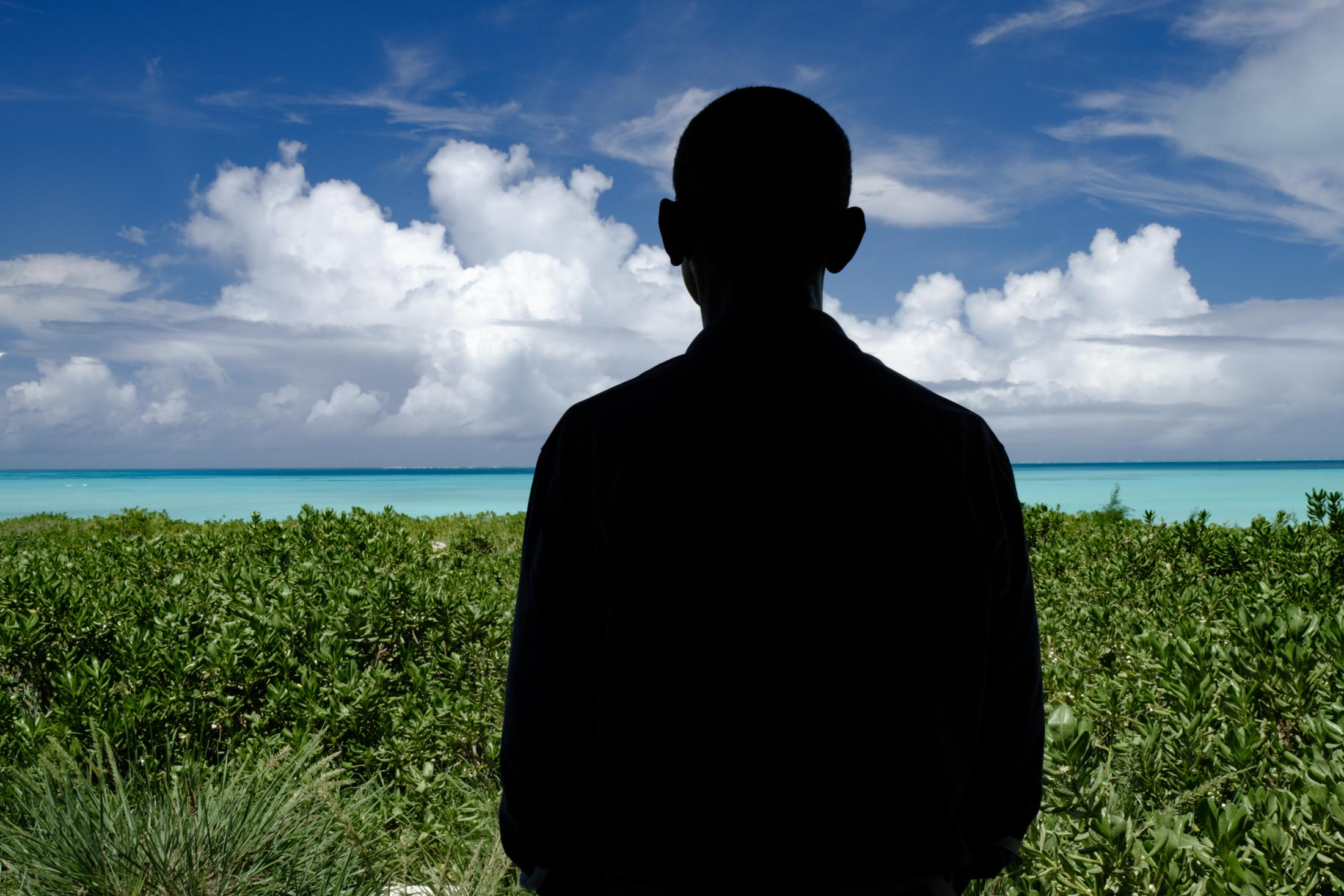 President Barack Obama, dedicating the Papahānaumokuākea Marine National Monument for the New York Times