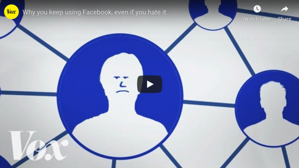 Why You Keep Using Facebook (Even Though You Hate It)