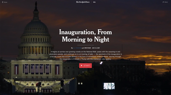 Inauguration, From Morning to Night