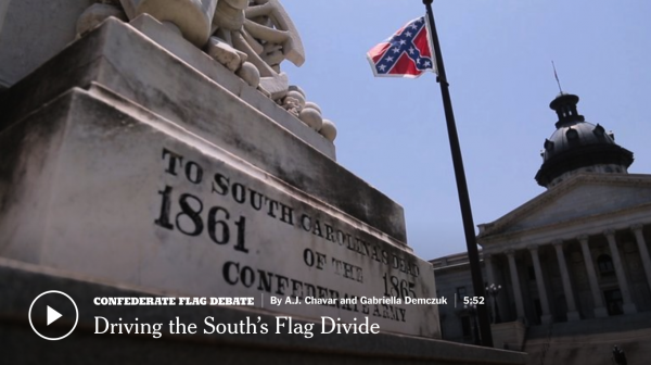 Driving the Confederate Flag Divide