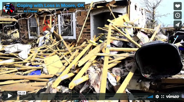 Coping with Loss in Moore, Oklahoma