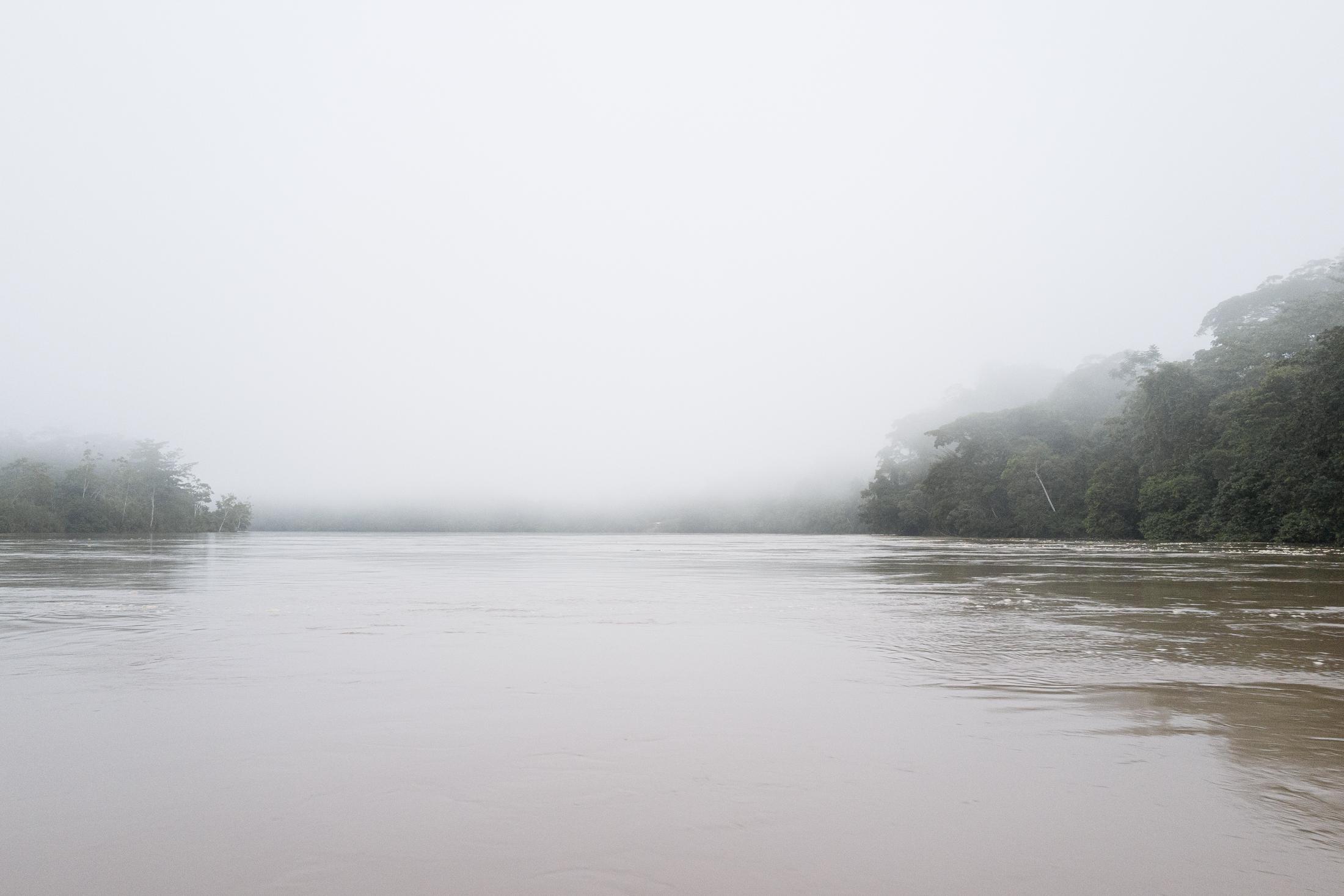 Rio Santiago, Amazon. Peru.