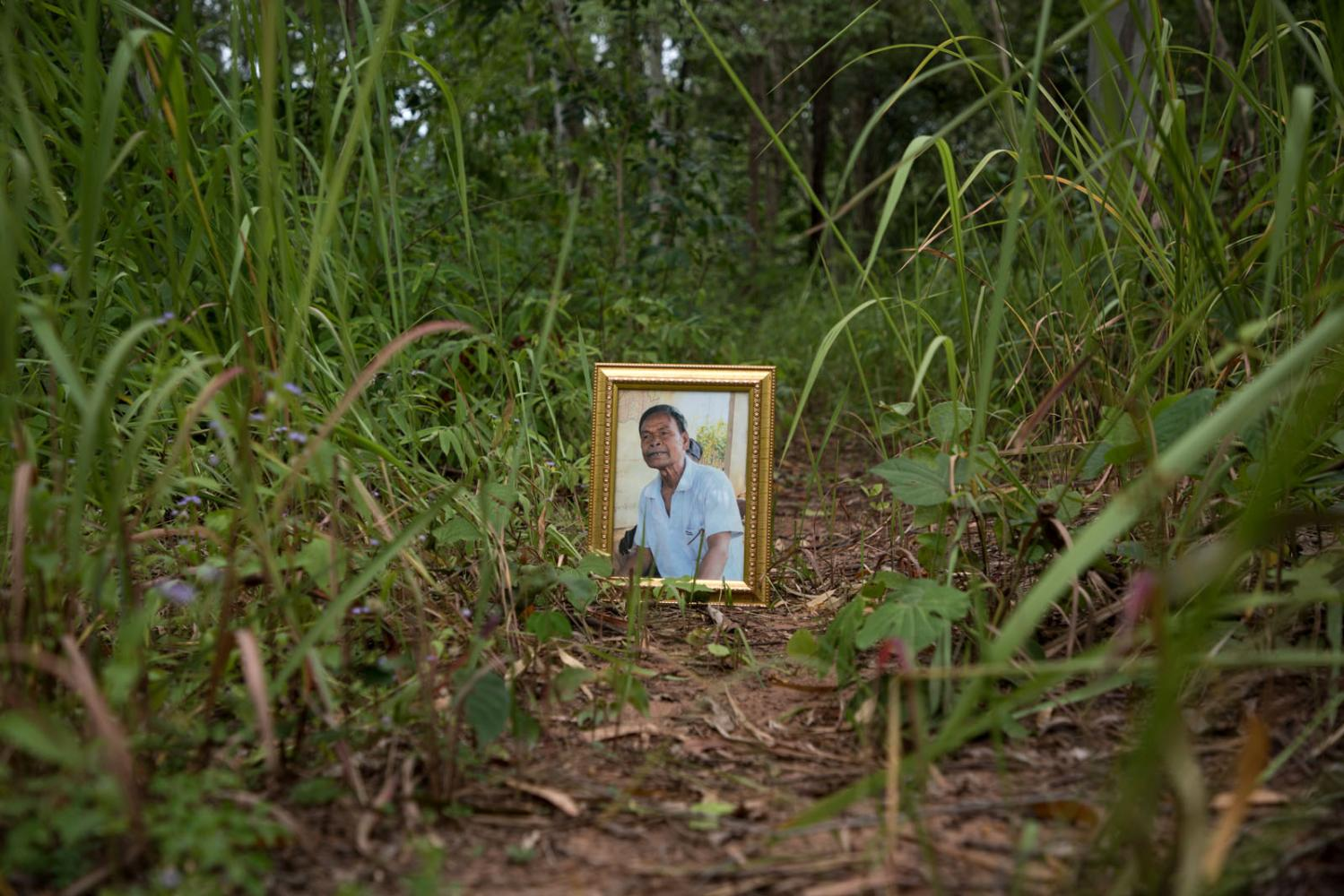 Den Khamlae, a land rights activist from Khon San District in Chaiyaphum Province and a prominent member of the Northeastern Land Reform Network became a victim of enforced disappearance on 16    April 2016 as he left his home at Kok Yaaw village to find mushrooms in the forest. He was part of a community that was enduring a fierce land dispute with the authorities who wanted to relocate the village as part of the controversial forest reclamation policy act.