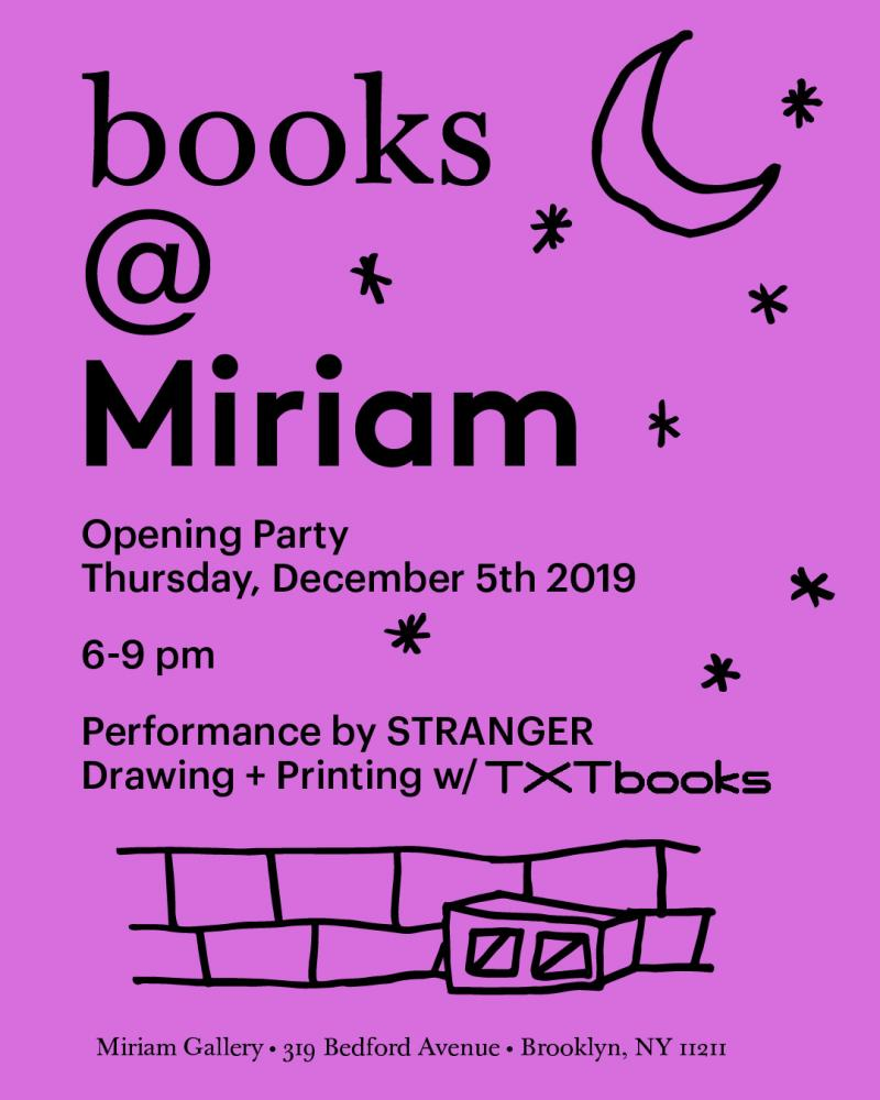 Photography image - Loading Books_miriam_invite.jpeg