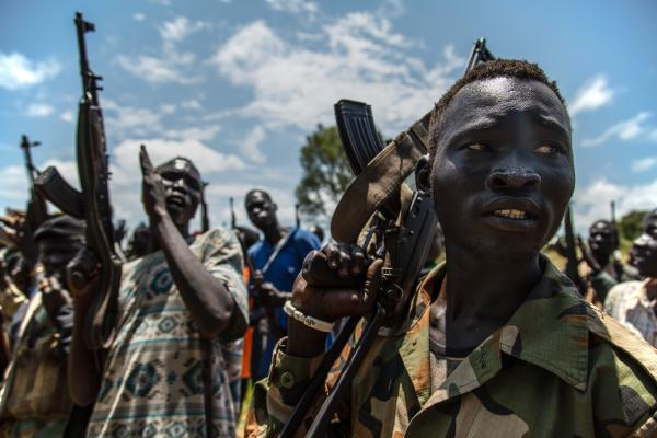 Embed with SPLA-IO, South Sudan