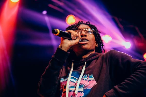 Lil Tecca performs at Greek Freak 2019 at Syracuse University.