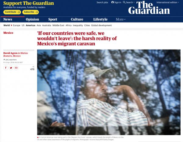  https://www.theguardian.com/world/2018/apr/05/view-inside-mexico-migrant-caravan-trump-border-wall 