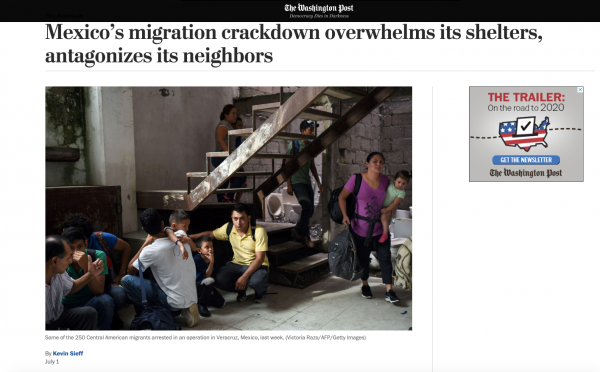 ​ https://www.washingtonpost.com/world/the_americas/mexicos-migration-crackdown-overwhelms-its-shelters-and-antagonizes-its-neighbors/2019/07/01/cedde2b8-99c4-11e9-9a16-dc551ea5a43b_story.html ​​​
