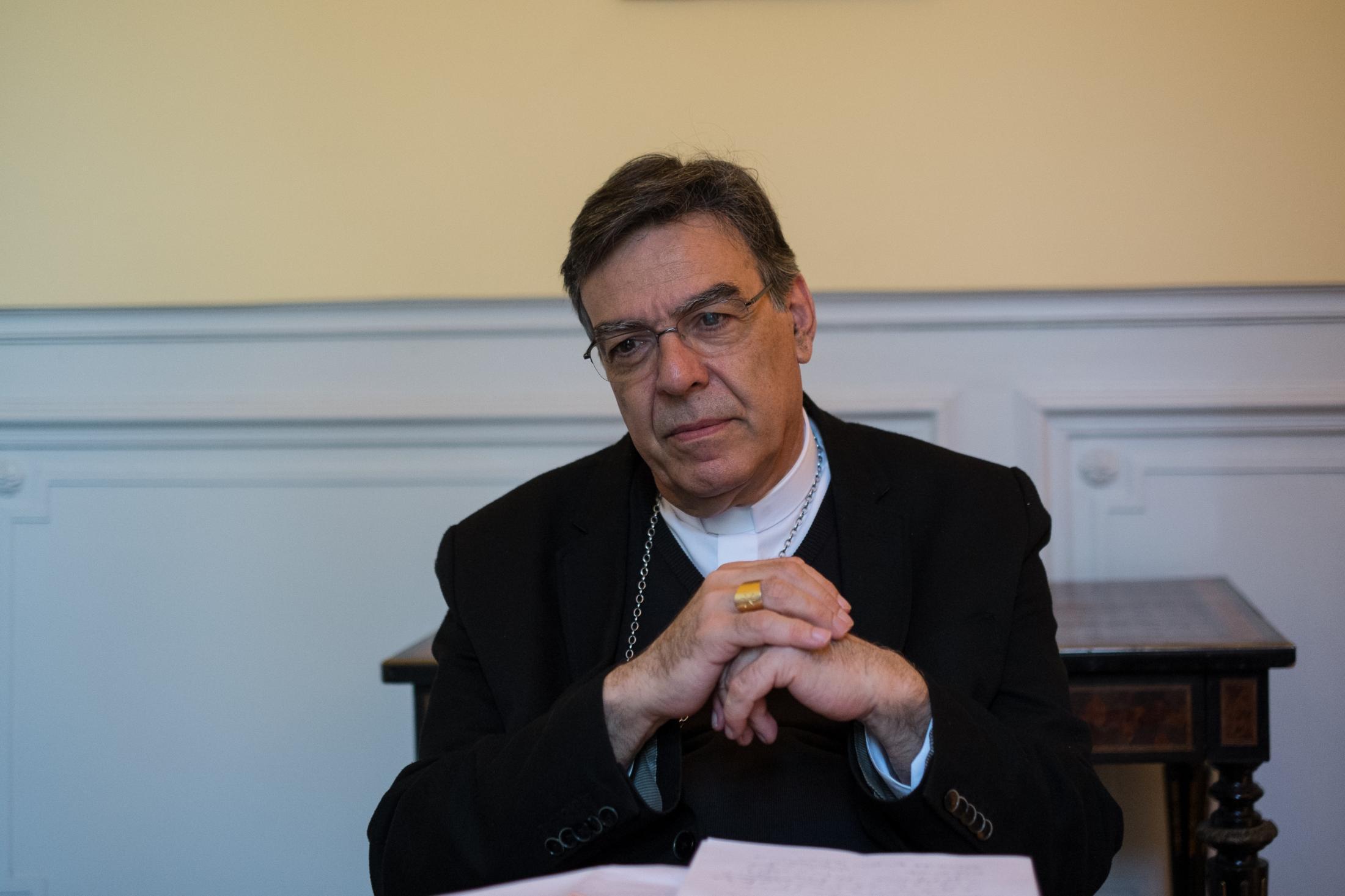 Monseigneur Aupetit, Archevêque de Paris.