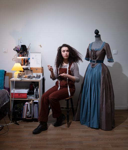 Floriane Breau, costumière